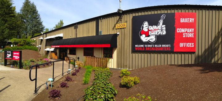 "The Dave's Killer Bread ""world breadquarters"" in Milwaukie, Oregon, just outside of Portland. The company is a leader in"