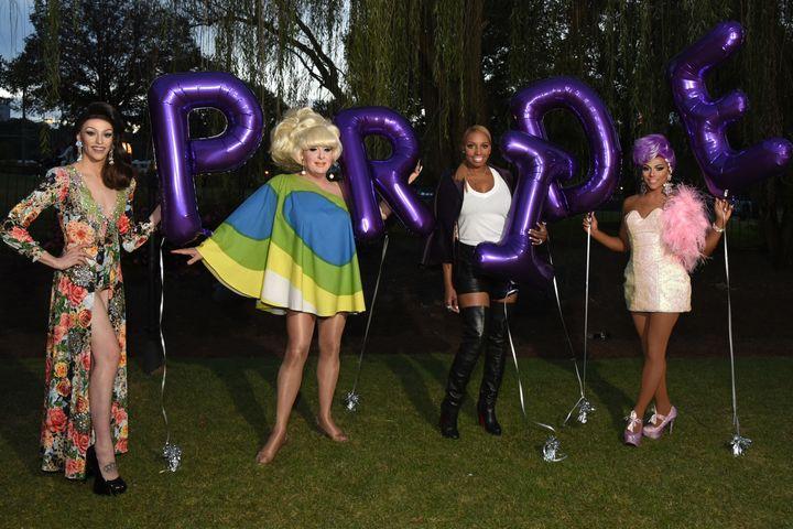 NeNe Leakes kicks off Atlanta Pride with Barefoot Bubbly at the Bear Garten celebration.