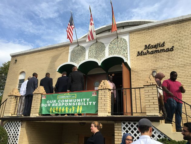 "<span class='image-component__caption' itemprop=""caption"">People gather for a prayer service at the Masjid Muhammad Islamic center in Washington, D.C., on Oct. 9, 2015.</span>"