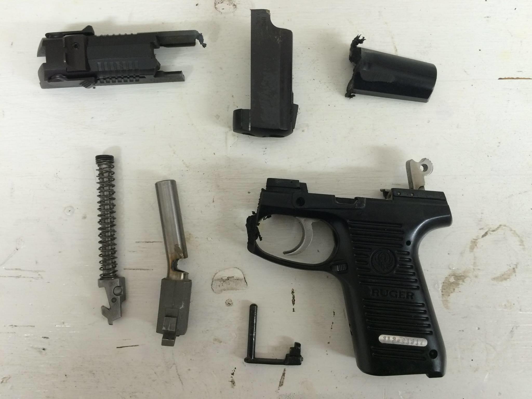 Steve Elliott explained his decision to destroy his handgun in a Monday Facebook post.