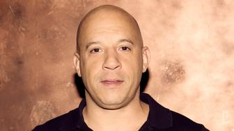 MIAMI, FL - OCTOBER 07: Actor Vin Diesel is photographed of the set of Univisions morning show Despierta America promoting his film The Last Witch Hunter on October 7, 2015 in Miami, Florida. (Photo by Alexander Tamargo/Alexander Tamargo)