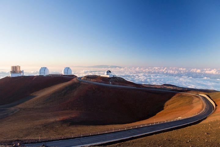 The summit of Mauna Kea, on Hawaii's Big Island.