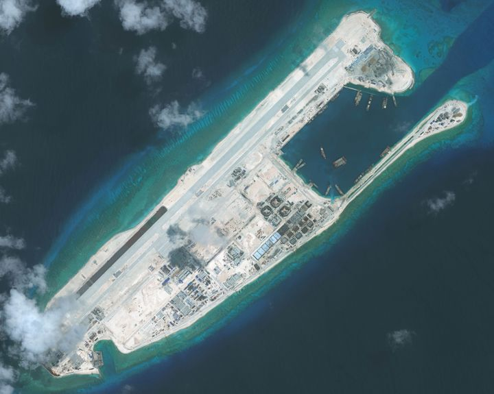 "Chinese President  Xi Jinping recently pledged that Beijing doesn't intend to ""militarize"" the islands"