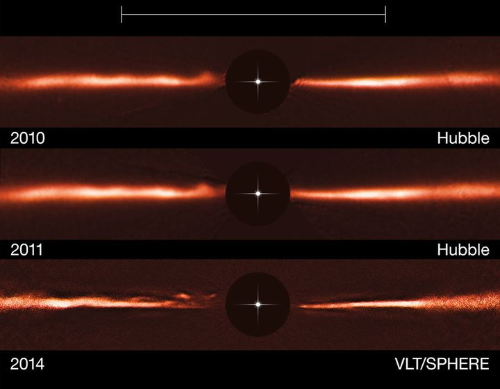 Mysterious 'Ripples' Zooming Away From Nearby Star Baffle Scientists