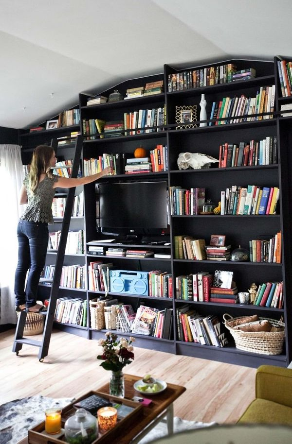 21 Decorating Ideas Every Bookworm Will Love Huffpost