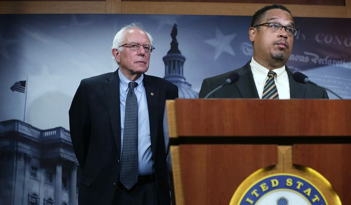 Rep. Keith Ellison, a co-chair of the Congressional Progressive Caucus, has announced that he endorses Sen. Bernie