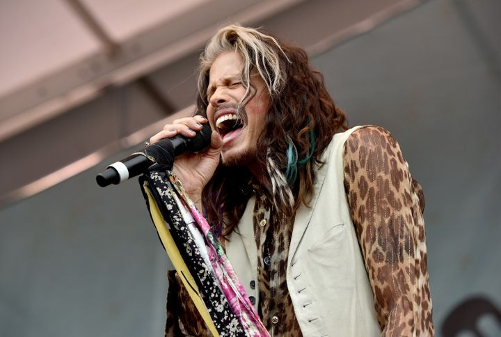Steven Tyler performs onstage during Pilgrimage Music & Cultural Festival on September 27, 2015 in Franklin, Tennessee. (