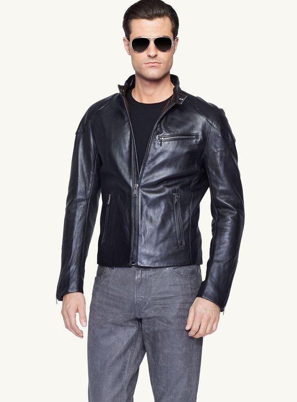 Leather Jacket Denim Shirt | Outdoor Jacket