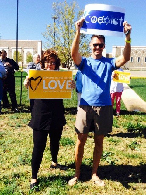 A planned anti-Muslim protest turned into an interfaith rally in Amarillo, Texas.