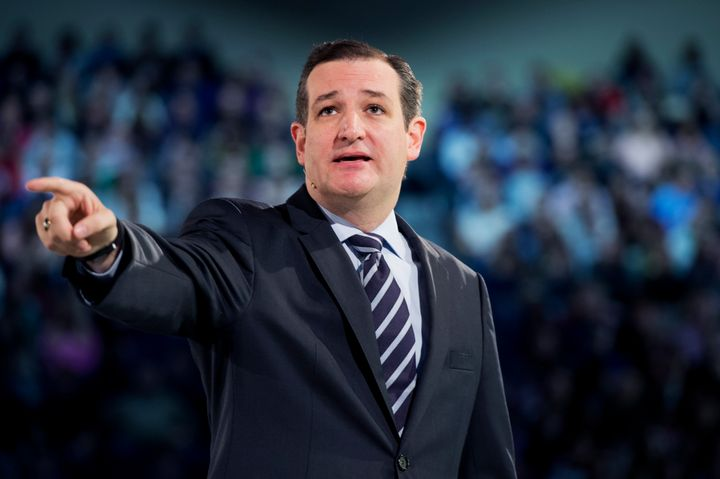 Sen. Ted Cruz announced his presidential run at Liberty University in March 2015.