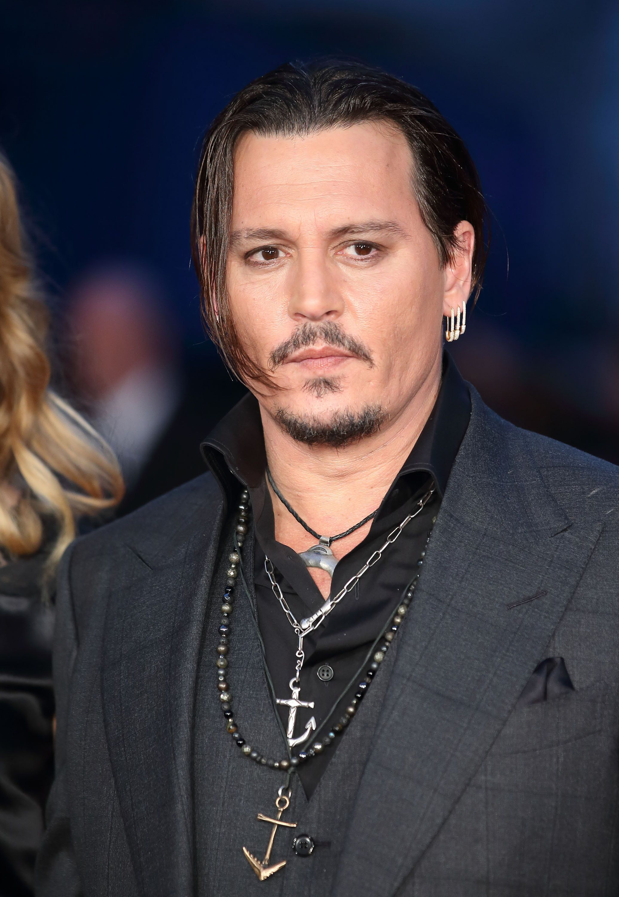 LONDON, ENGLAND - OCTOBER 11:  Johnny Depp attends a screening of 'Black Mass' during the BFI London Film Festival at Odeon Leicester Square on October 11, 2015 in London, England.  (Photo by Mike Marsland/WireImage)