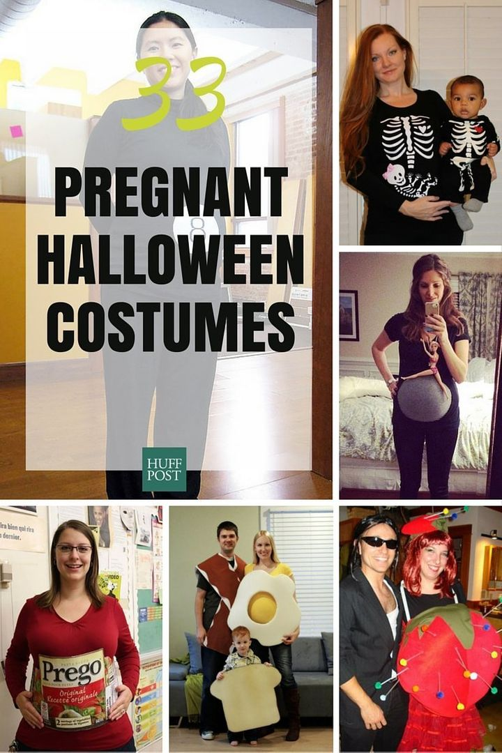 Halloween Costumes For Family Of 3 And Pregnant.33 Creative Halloween Costumes Just For Pregnant Women Huffpost Life