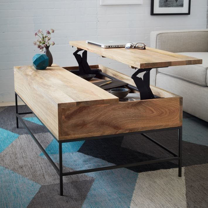 1 Store Your Goodies In A Pop Top Coffee Table.