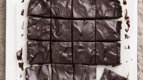 If you don't tell anyone that these dark, rich squares are made with dates, they'll probably never know. The truth is, when y