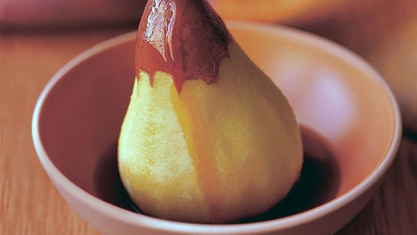 We're used to seeing cold-weather fruits, such as apples and plums, roasted, baked and simmered. Steaming, though, is an unex