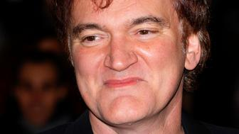LONDON, UNITED KINGDOM - JANUARY 10: (EMBARGOED FOR PUBLICATION IN UK NEWSPAPERS UNTIL 48 HOURS AFTER CREATE DATE AND TIME) Quentin Tarantino attends the UK Premiere of 'Django Unchained' at the Empire Leicester Square on January 10, 2013 in London, England.  (Photo by Indigo/Getty Images)