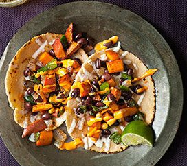 This lighter alternative to a typical tailgating dish uses sweet potatoes -- the ubiquitous cold-weather vegetable -- in an u