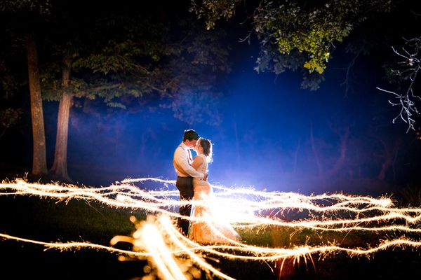"""""""Sparkler photos are a dime a dozen these days, and we take a new one what seems like every other weekend. But this one reall"""