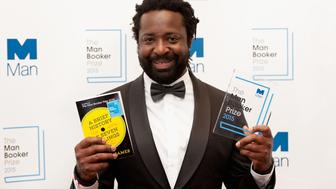 LONDON, ENGLAND - OCTOBER 13:  Author Marlon James named as the Winner of The 2015 Man Booker Prize for 'A Brief History of Seven Killings' at The Guildhall on October 13, 2015 in London, England.  (Photo by Eamonn M. McCormack/Getty Images)