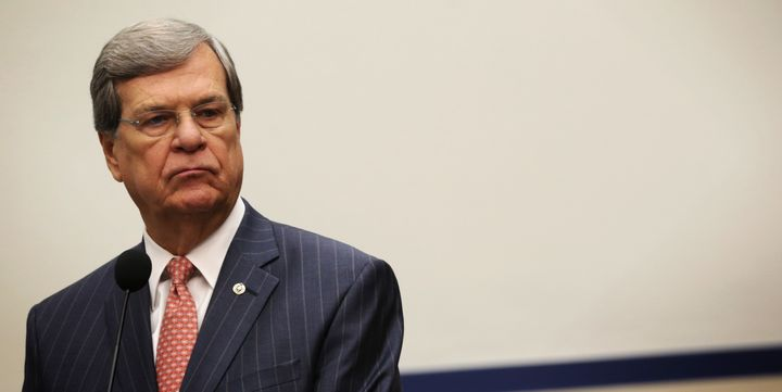 Former U.S. Senate Majority Leader Trent Lott (R-Miss.) is lobbying for the Safe Campus Act on behalf of national fraternity