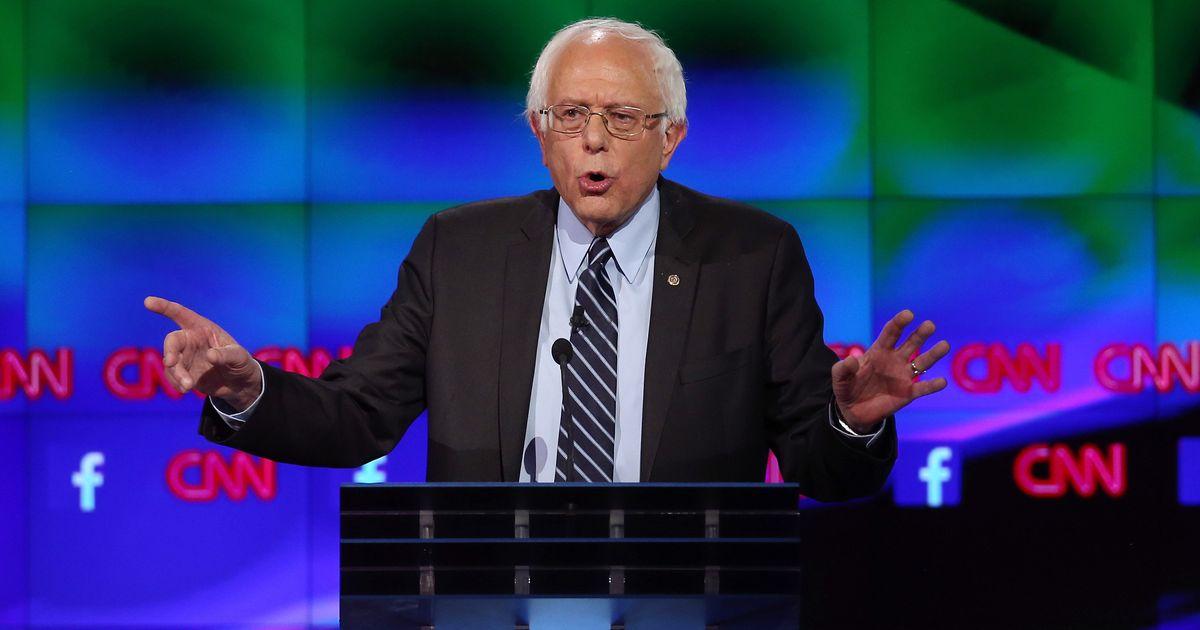 focus group bernie sanders democratic debate