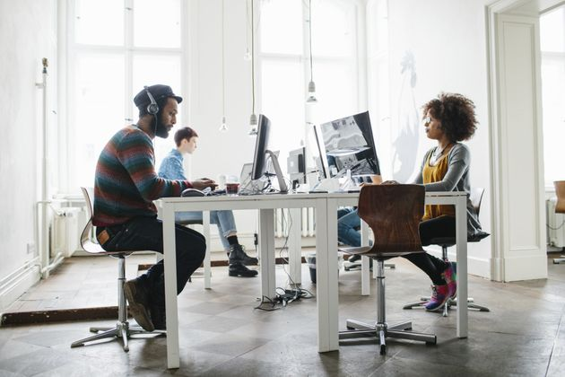 To Work, Open Offices Need To Be A Little Less