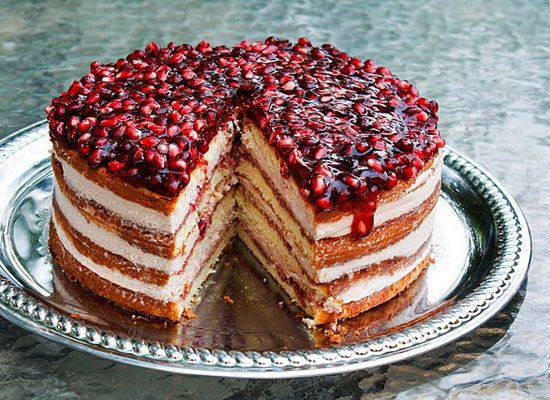 Pomegranate Cake Filling Recipe