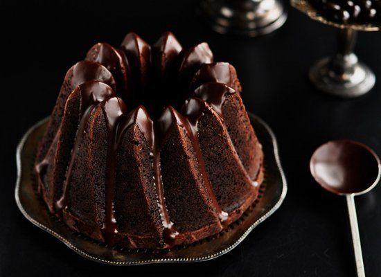 "<strong>Get the <a href=""http://sweetapolita.com/2011/04/chocolate-espresso-bundt-cake-with-dark-chocolate-cinnamon-glaze/"" t"