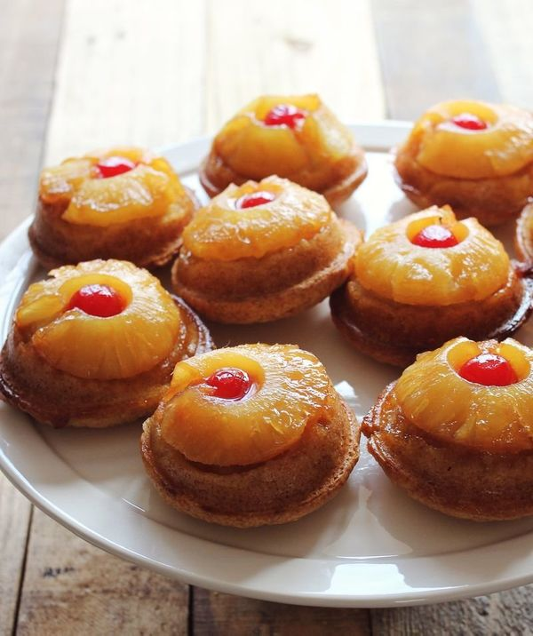 Best Homemade Individual Pineapple Upside Down Cake From Scratch