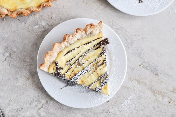 "<strong>Get the <a href=""http://tastykitchen.com/blog/2012/12/cannoli-tart/"" target=""_blank"">Cannoli Tart recipe</a> by How S"