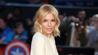 LONDON, ENGLAND - OCTOBER 09:  Sienna Miller attends a screening of 'High Rise' during the BFI London Film Festival at Odeon Leicester Square on October 9, 2015 in London, England.  (Photo by Mike Marsland/WireImage)
