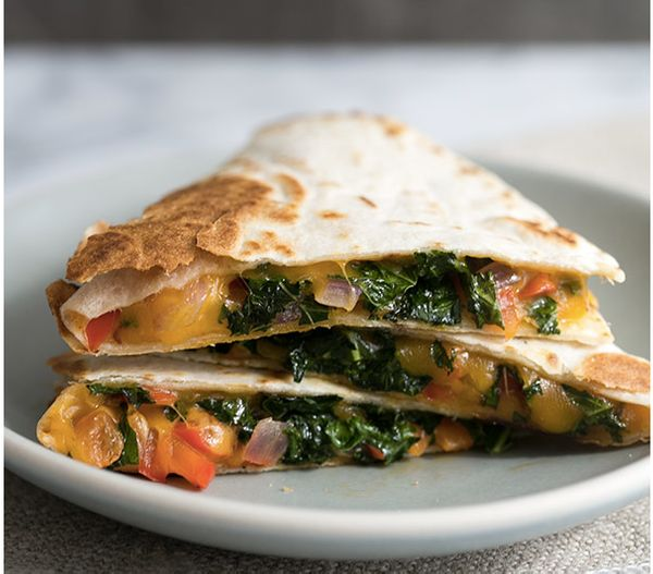"<strong>Get the<a href=""http://www.simplyrecipes.com/recipes/kalesadilla/"" target=""_blank""> ""Kale""sadilla recipe</a> from Sim"