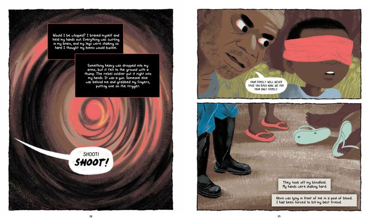 A Former Child Soldier Shares His Story In New Graphic Novel   HuffPost
