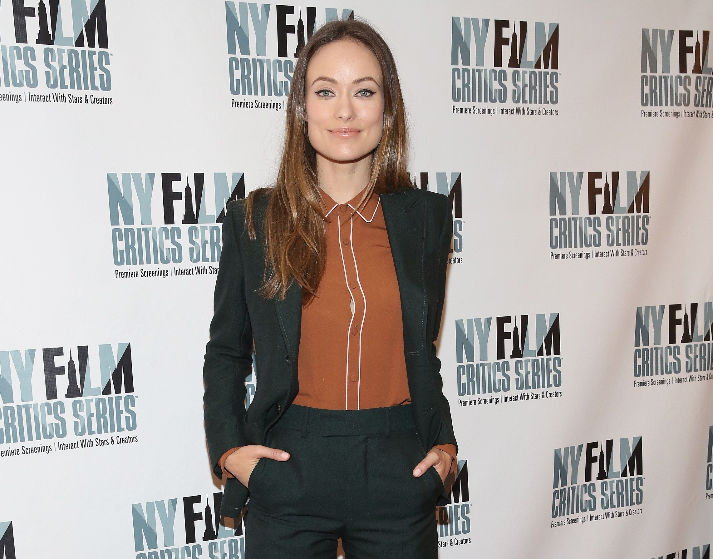 NEW YORK, NY - OCTOBER 12:  Olivia WIlde attends 'Meadowland' New York Film Critics Series Screening at AMC Empire 25 theater on October 12, 2015 in New York City.  (Photo by Robin Marchant/Getty Images)