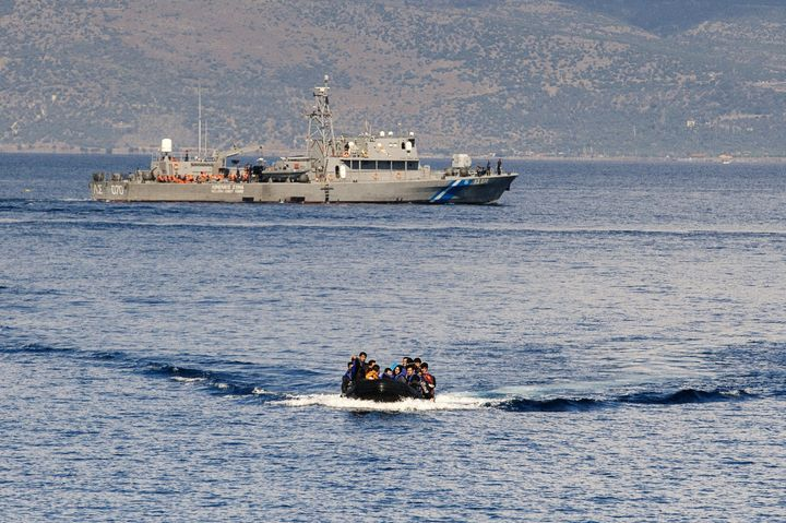 The Greek Coast Guard says the investigation into the identity of the perpetrators of the raids is complicated by the fact th