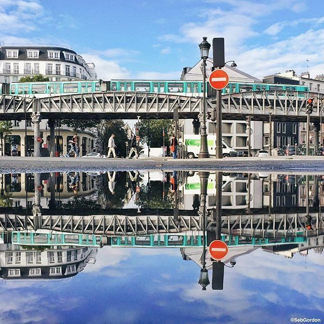 Reflections in Paris