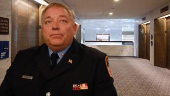 Retired FDNY firefighter Ray Pfeifer lobbies Congress to  pass a new 9/11 bill.