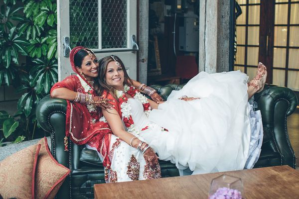 """""""It was one of the first lesbian Indian weddings in the U.S. People from all over the world were viewing this in such a posit"""