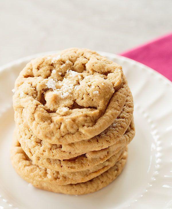 """<strong>Get the <a href=""""http://www.browneyedbaker.com/salted-peanut-butter-butterscotch-chip-cookies/"""" target=""""_blank"""">Salte"""