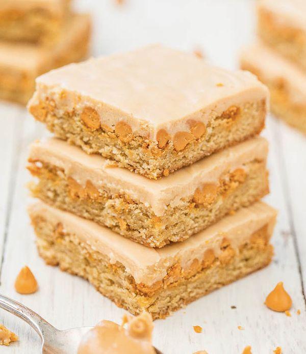 """<strong>Get the <a href=""""http://www.averiecooks.com/2014/05/peanut-butter-butterscotch-bars.html"""" target=""""_blank"""">Peanut Butt"""