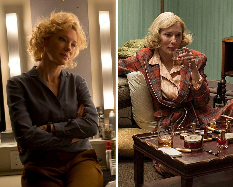 "Cate Blanchett stars in ""Truth"" and ""Carol."""