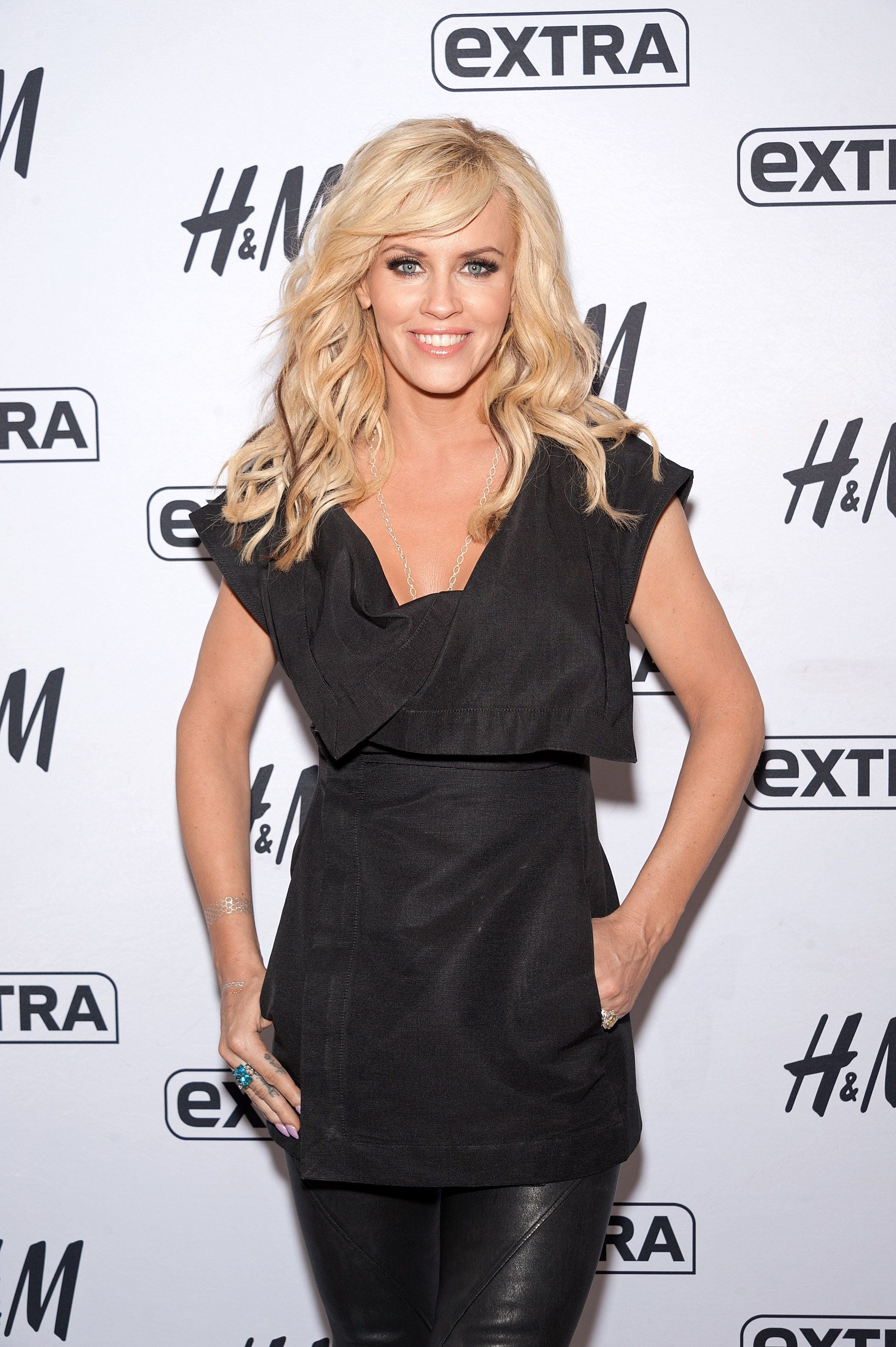 NEW YORK, NY - JUNE 15:  Jenny McCarthy visits 'Extra' at their New York studios at H&M in Times Square on June 15, 2015 in New York City.  (Photo by D Dipasupil/Getty Images for Extra)