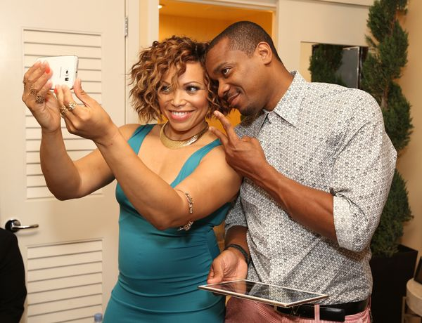 """&ldquo;You have to laugh with one another."""" - <a href=""""https://www.youtube.com/watch?v=_Smm9YVvFfM"""">Tisha Campbell-Martin</a>"""