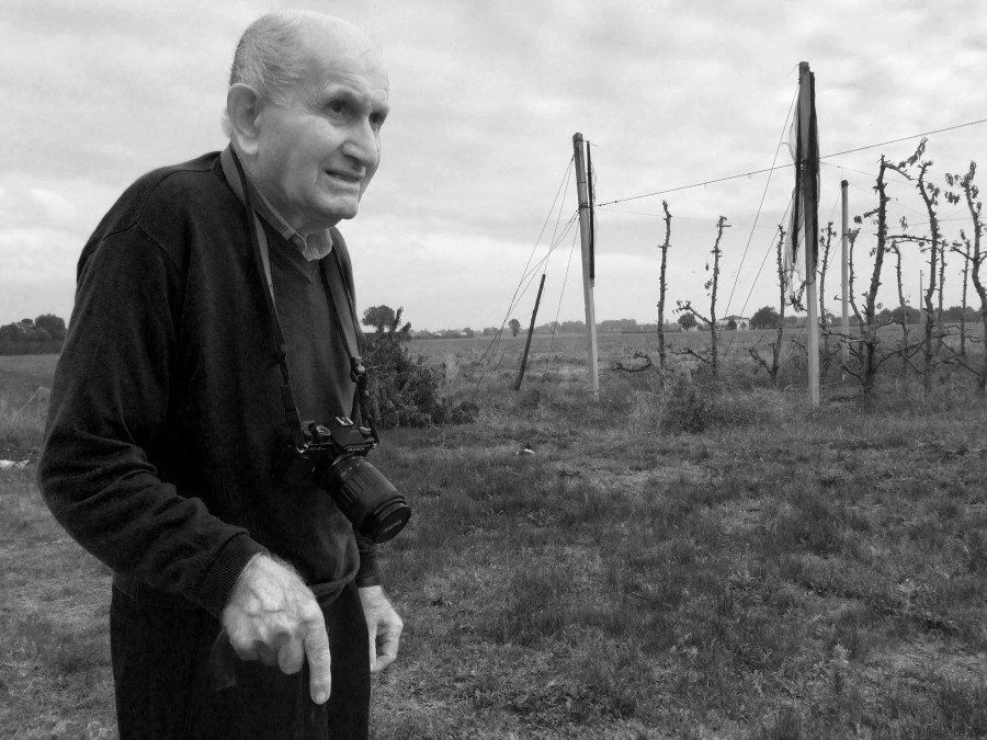 Italian farmer Ulisse Bezzi, 90, has been taking photos for decades and his work was recognized by New York's Keith De L