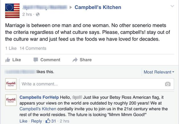 When Bigots Freaked Out About Campbell's Ad With Gay Dads, This Man Had A Brilliant