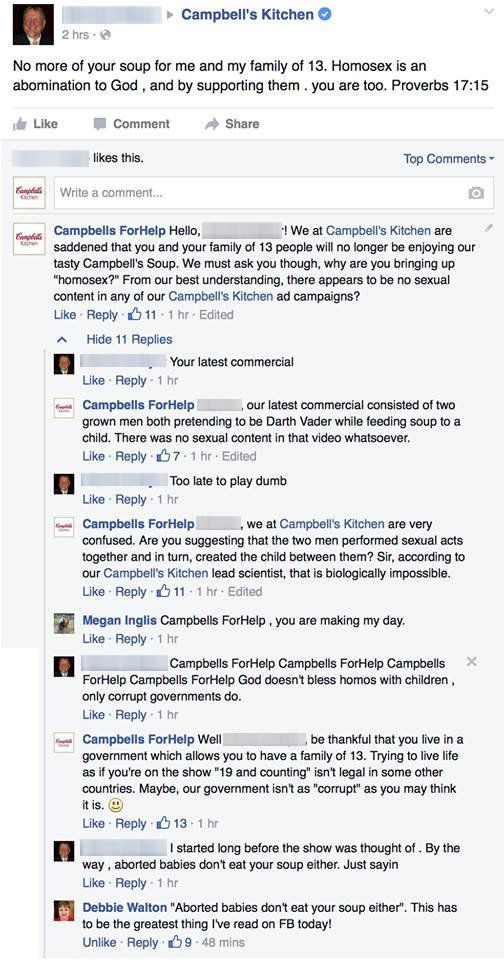 When Bigots Freaked Out About Campbellu0027s Ad With Gay Dads, This Man Had A  Brilliant Response | HuffPost