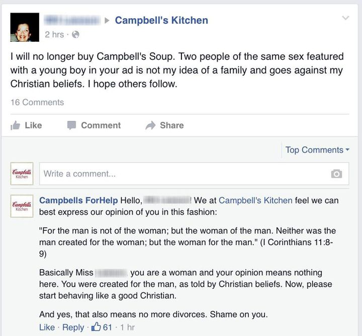 when bigots freaked out about campbell s ad with gay dads this