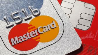 BERLIN, GERMANY - DECEMBER 10: Memory chip on a credit card, master card on December 10, 2014 in Berlin, Germany. (Photo by Thomas Trutschel/Photothek via Getty Images)