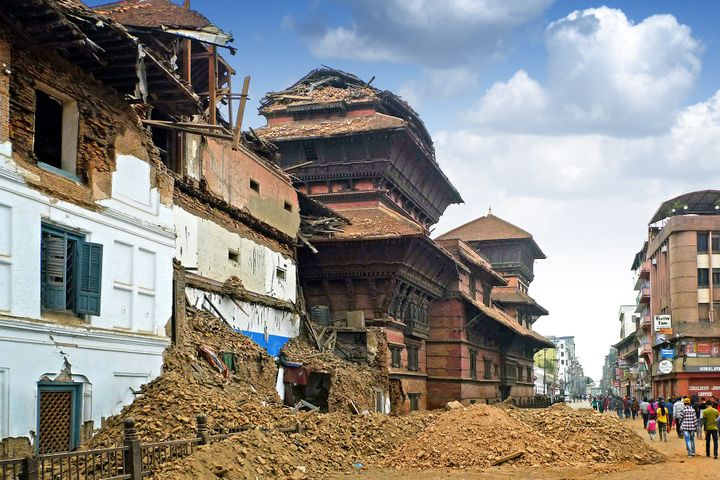 The earthquake that struck Nepal's Kathmandu Valley in April 2015 damaged dozens of cultural and historical landmarks. T
