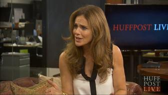 Amy Brenneman talks with HuffPost Live.